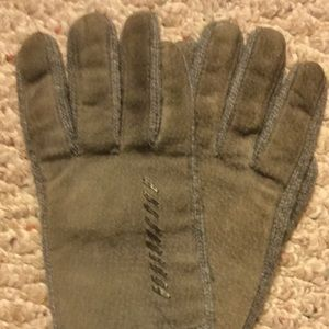 SOTONER ARIS Leather Gray Womens one-size Gloves
